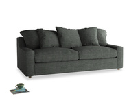 Large Cloud Sofa in Pencil Grey Clever Laundered Linen