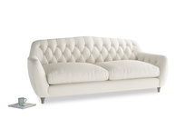 Large Butterbump Sofa in Chalky White Clever Softie