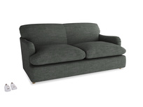 Medium Pudding Sofa Bed in Pencil Grey Clever Laundered Linen