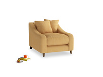 Oscar Armchair in Honeycomb Clever Softie