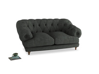 Small Bagsie Sofa in Pencil Grey Clever Laundered Linen