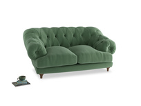Small Bagsie Sofa in Thyme Green Vintage Linen