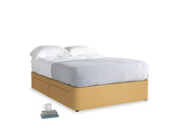 Double Tight Space Storage Bed in Honeycomb Clever Softie