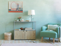 Low Tim Wooden Sideboard cabinet