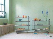 Busboy Shelves on Wheels Range
