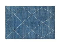 Habib Blue Handknotted Rug