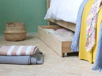 Dinkum Solid Wood Under Bed Drawer