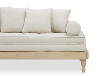 Parlay daybed solid oak daybed