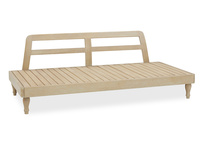 Parlay handmade daybed wooden frame