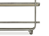 Side Busboy Metal Frame Trolley