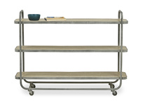 Side Busboy Metal Side Board Trolley