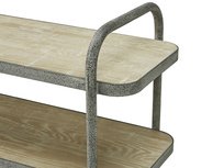 Busboy Industrial Style trolley shelves top shelf