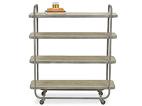 Busboy Industrial Style trolley shelves