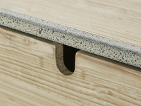 Side Tim Console Table Drawer Handle Detail