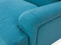 Cinema Deep Upholstered Low Arm Sofa Arm Detail