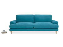 Cinema Deep Upholstered Square Arm Sofa