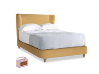 Double Hugger Bed in Honeycomb Clever Softie
