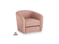 Tootsie Armchair in Blossom Clever Laundered Linen