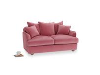 Small Smooch Sofa in Blushed pink vintage velvet