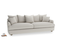 Extra large Smooch Sofa in Moondust grey clever cotton