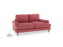 Small Cinema Sofa in Raspberry brushed cotton