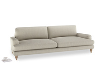 Extra large Cinema Sofa in Thatch house fabric