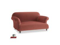 Small Soufflé Sofa in Dusty Cinnamon Clever Velvet