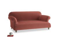 Medium Soufflé Sofa in Dusty Cinnamon Clever Velvet