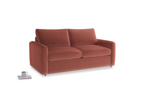 Chatnap Sofa Bed in Dusty Cinnamon Clever Velvet with both arms
