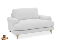 Cinema Contemporary Upholstered Love Seat