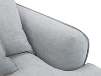 Smooch Deep Upholstered Love Seat Right Arm Detail