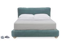 Pillow Talker feather filled headboard bed