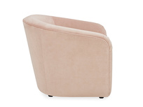Tootsie Upholstered Tub Armchair with Footstool