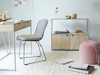 Gubbins Clever Storage Metal Leg Desk