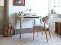 Outta Sight Slimline Pine Writing Desk
