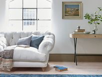 Bagsie Comfy Button Back Loveseat
