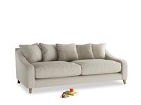 Large Oscar Sofa in Thatch house fabric