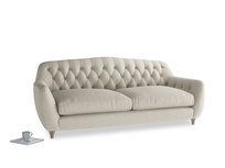 Large Butterbump Sofa in Thatch house fabric