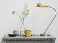 Sherlock Vintage Brass Lamp Shade Table Light