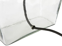 Ernie Square Glass Table Lamp Cord Detail