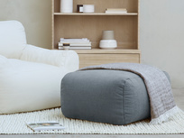 Layabout Foam Floor Cushion Footstool