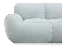 Layabout lounger frameless sofa front detail