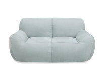 Layabout deconstructed foam filled floor sofa front