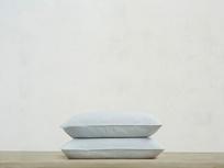 Everyday Linen Pillowcase in Sky grey x2