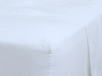 Superking Everyday Linen Fitted Sheet in White