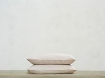 Lazy Cotton Pillowcase in Stone Grey