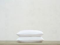 Lazy Cotton Pillowcase in White