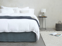 Everyday Linen bed linen in White