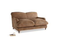 Small Pudding Sofa in Walnut beaten leather