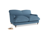 Small Pudding Sofa in Easy blue clever linen
